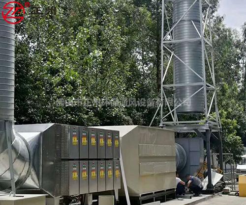 四川洪立机械厂喷漆废气处理