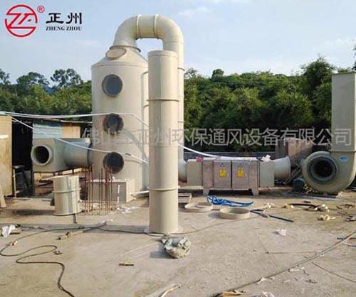 广州赛捷机械喷漆废气处理工程