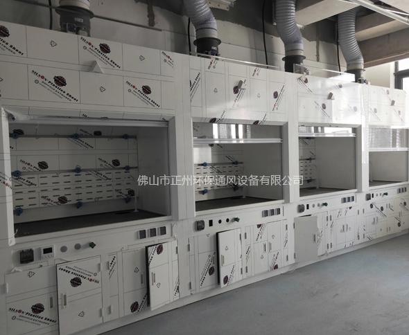 湖北武汉地质大学实验楼废气工程