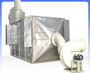 不锈钢卧式湿式静电除雾器